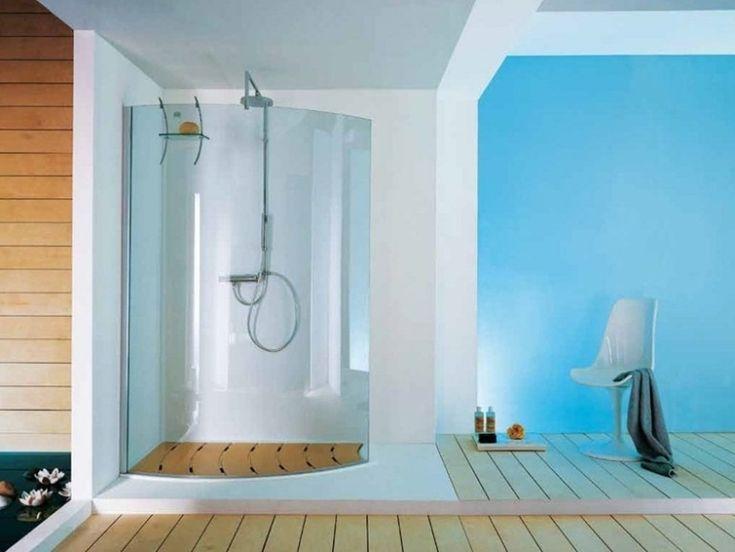 dusche komplett walkin mm esg glas satiniert duschwand. Black Bedroom Furniture Sets. Home Design Ideas