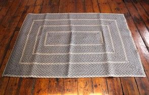 Misty blue woven rug  Available on http://www.waringsathome.co.uk/for-the-home/rugs.html?limit=all