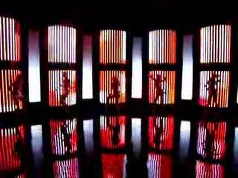 Music video decoration made by Videofabrika with 160 Mistrip lights