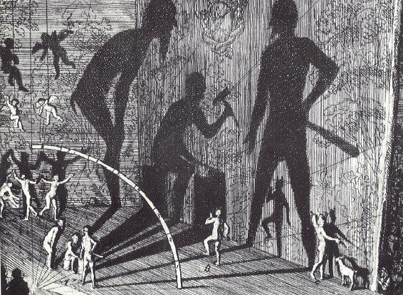 Propos sur l'ombre et le théâtre d'ombres