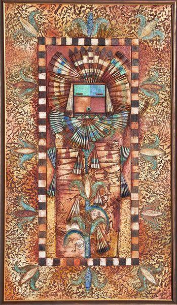Native American and Southwest Art and Jewelry ? Turquoise Tortoise Gallery, Sedona.  Sacred Corn, Tony Abeyta.