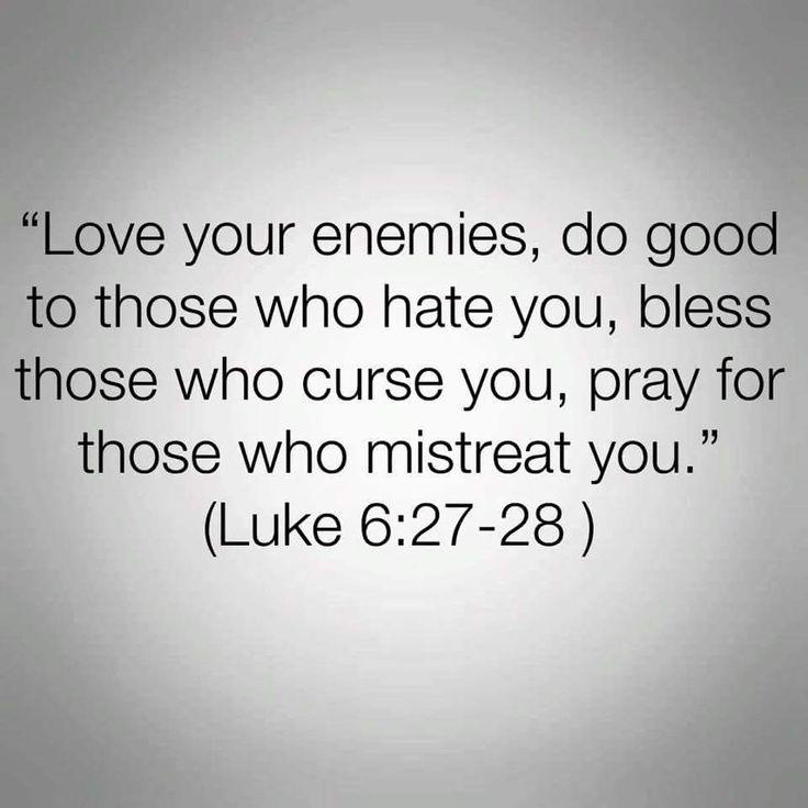 Luke 6:27-28 ✞