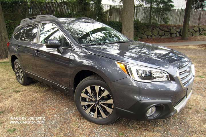carbide gray 2015 Subaru Outback Limited. Love my car