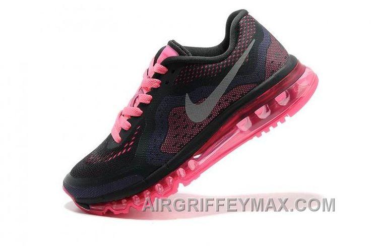 4c0d2cb4dec2ad ... italy soldes la nouvelle version de nike air max 2014 femme noir fluo  rose baskets vente