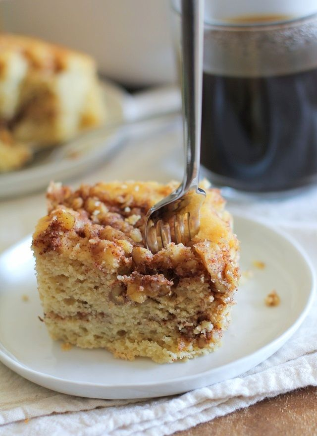Paleo Coffee Cake - grain-free and refined sugar