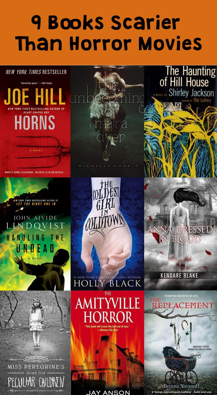 You don't need movies to get your #Halloween horror fix this year. This books will do the trick!