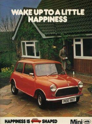 1978 Austin Morris Mini Advert - Vintage Advertising Posters | Paper Bygones