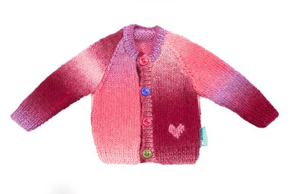 Check out this item in my Etsy shop https://www.etsy.com/listing/196763885/pink-hand-made-baby-girl-cardigan