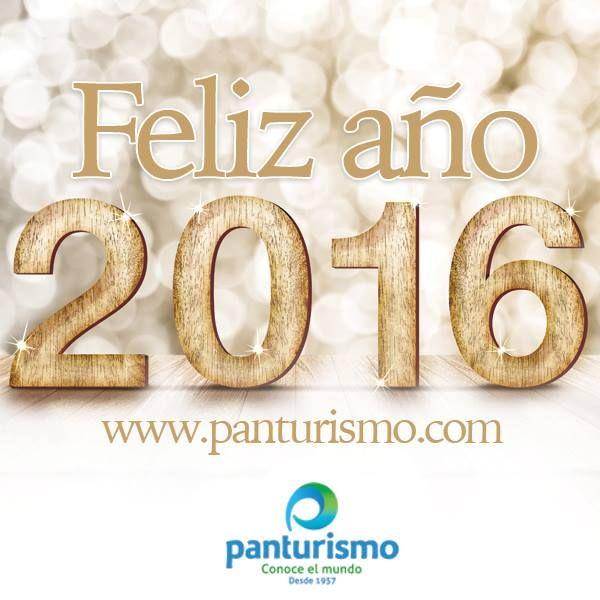 Te deseamos un 2016 lleno de nuevos destinos, de muchas personas por conocer, de sabores diferentes, de sol, playa o nieve, te deseamos un 2016 lleno de viajes y nuevas experiencias.
