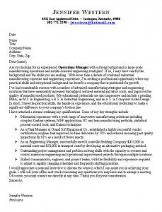 good cover letter example for job hunters - Good Example Of A Cover Letter For A Job