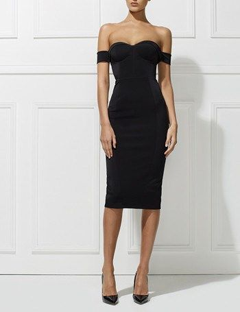 Chloe Dress - Black by Misha Collection