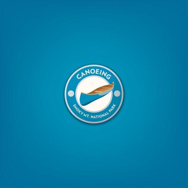Smoky Mountain Badge Set on Behance