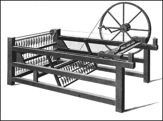 Hargreaves and the Spinning Jenny (1746)