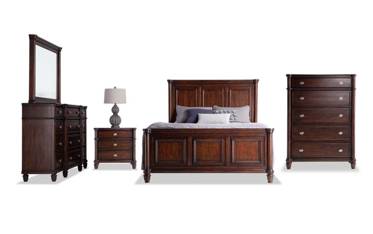Hanover Queen Storage Bedroom Set Bedroom Sets Bedroom