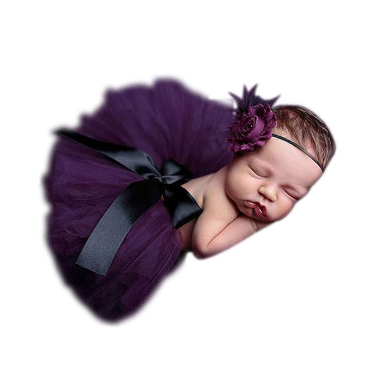 Newborn Photography PropsHot Baby Toddler Girl Tutu Skirt&Headband Photo Prop Costume Outfit For Baby Christmas Gifts W1