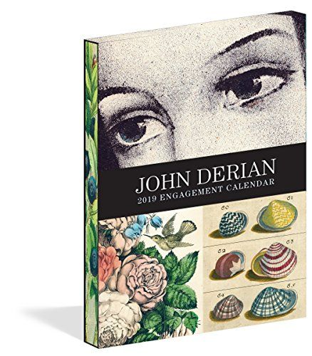 John Derian Engagement Calendar 2019 - Designer John Derian has a unique tastemaker's gift for gathering artworks, heirlooms, and artifacts that transport us to another world. Mysterious yet familiar, they're like pieces we might remember from a dream or a memory that invite us to look again and again. Every week of this e...