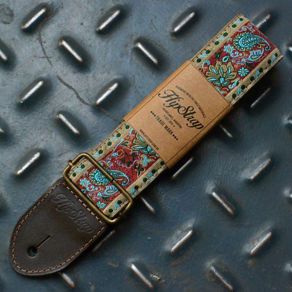 Free Shipping Worldwide Please Follow Us On Instagram Com Hipstrap Our Goa Vintage Style Guitar Strap Make Us F Guitar Strap Leather Guitar Straps Guitar