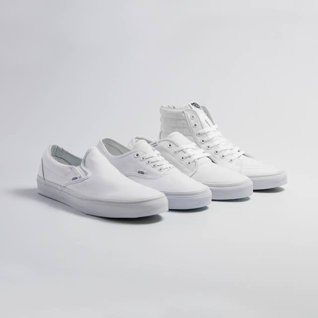 Vans White Sneakers - Order Online at the Vans Shop
