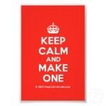 [Crown] keep calm and make one  Photo Prints
