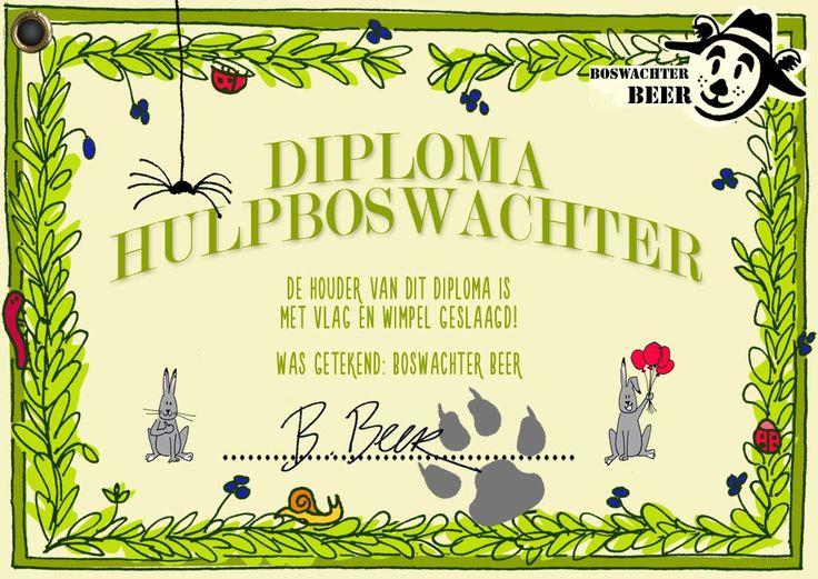 Boswachter Beer - Els Hiddink