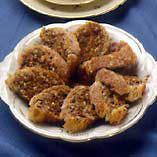 Nødderulletærte - Opskrifter