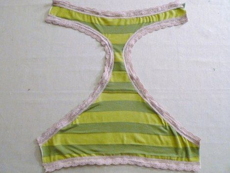 - Pinterest has arrived at it's logical conclusion: a tutorial for making your own underwear.