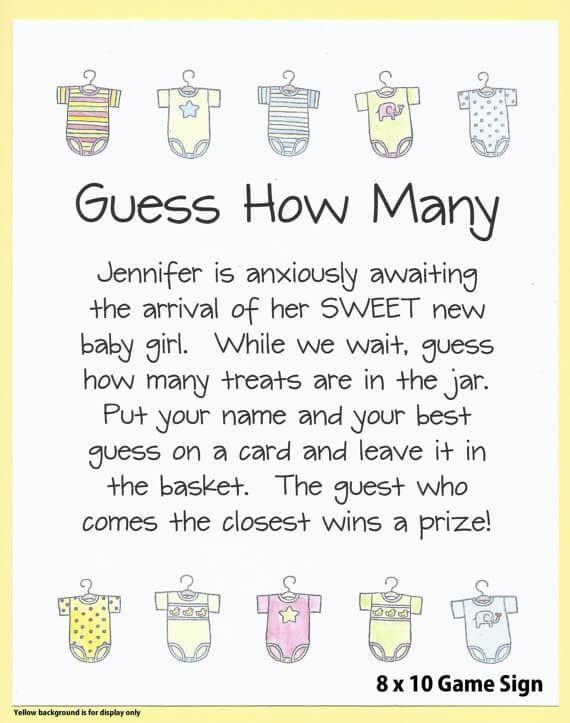 30 Best Baby Shower Game Ideas Best Baby Shower Games Easy Baby