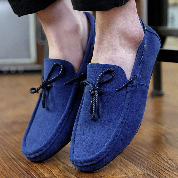 - Classic style leisure loafer driving shoes for the modern man - Easy slip-on leisure shoes - Comfortable breathable upper - Made from PU - Available in 2 colors
