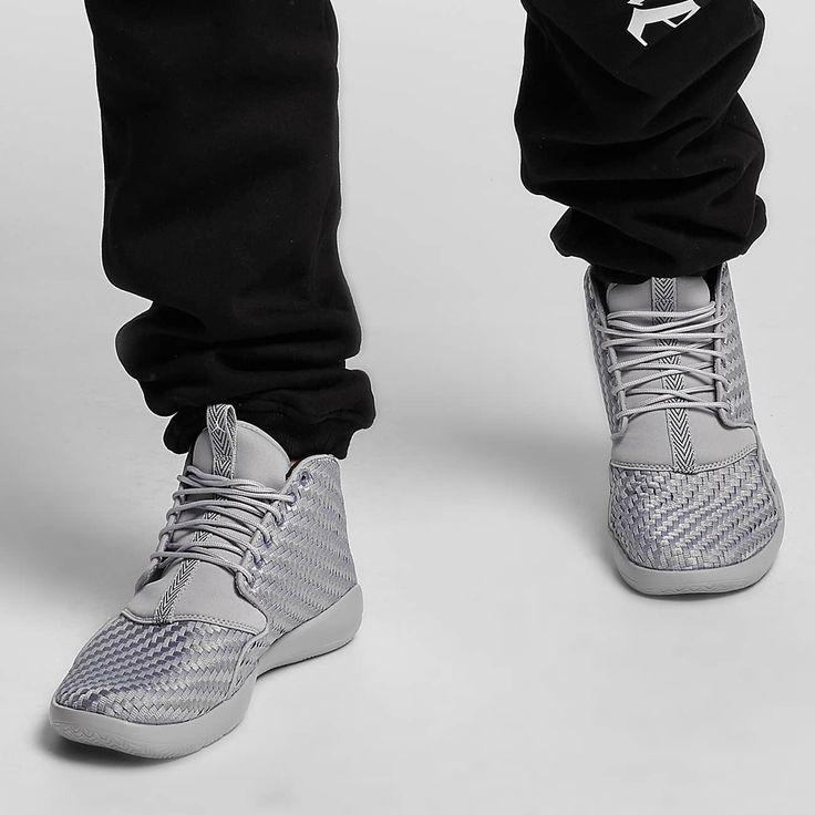nieuw! Jordan Eclipse Chukka Sneakers Wolf Grey/White/Black