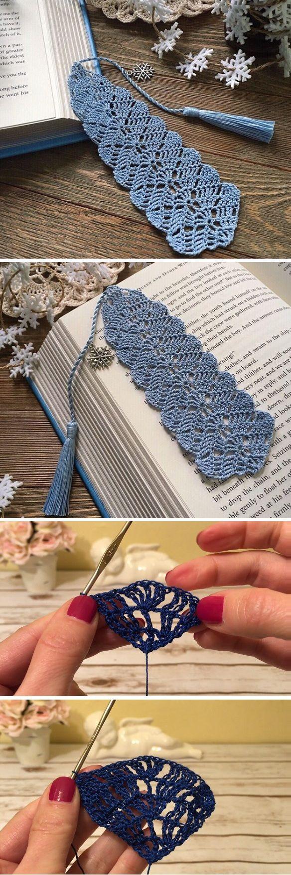 Crochet Bookmark Crochet Bookmarks Crochet Patterns Crochet Basics