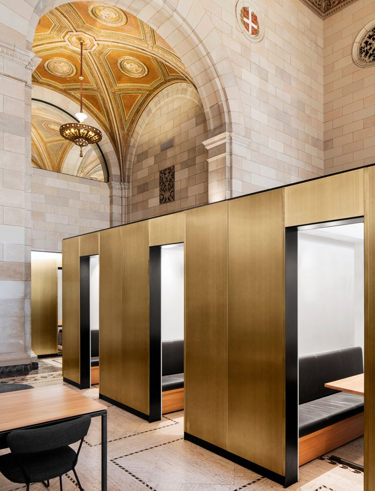 henri cleinge converts historic bank in montreal to tech startup offices