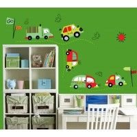 Cars Trucks and Buses decal. Wall stickers are available at www.kidzdecor.co.za. Free postage throughout South Africa