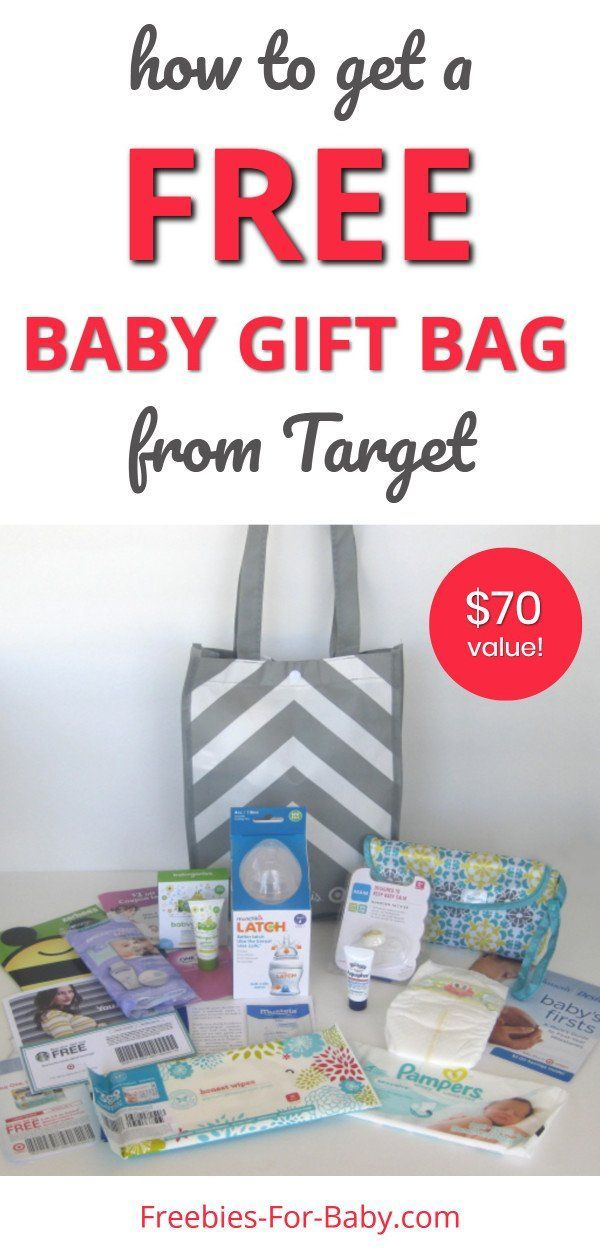 Free Target Gift Registry Baby Welcome Bag 71 Value Free