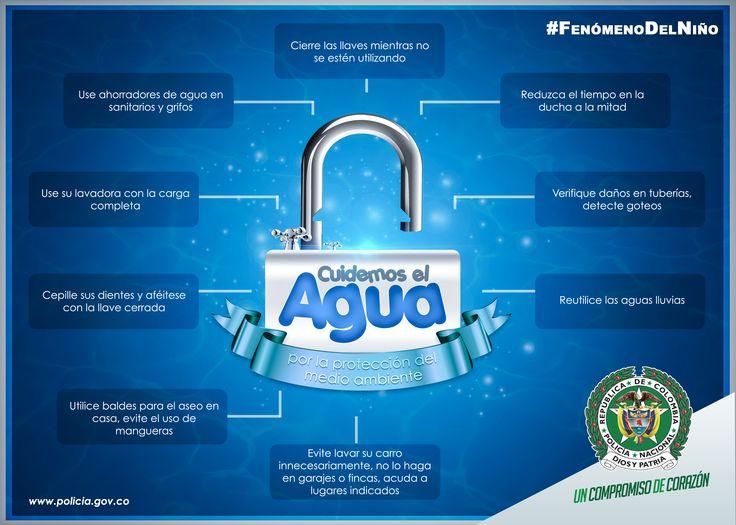 La protección del agua es un compromiso de todos #FenómenoDelNiño