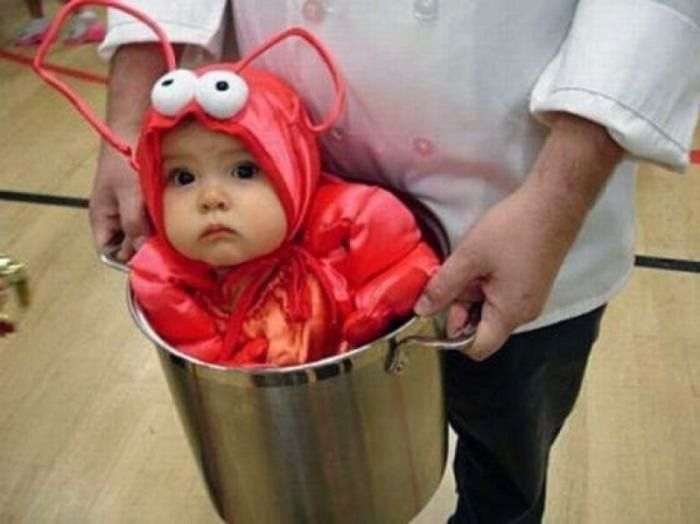Halloween Costumes Kids: Lil Lobster Incharacter Infant Halloween ...