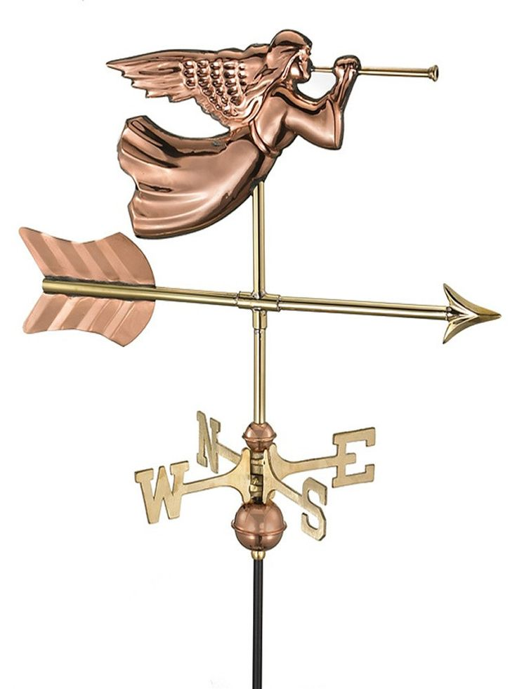 Angelic Garden Weather Vane