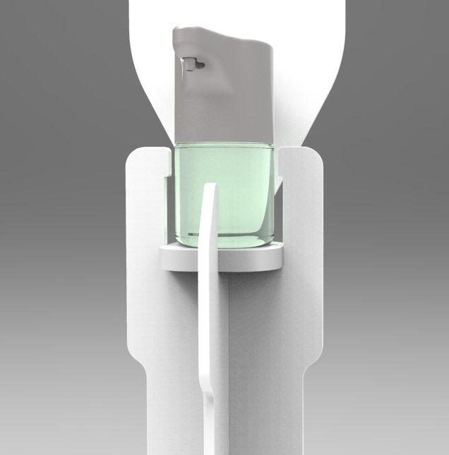 Pin Su Dispositivi Porta Dispenser Igienizzanti