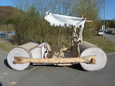 With gas prices skyrocketing, I guess it's time to start driving the Flinstone car.