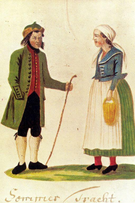 Summer costume of Rapotín / Podesní / Jeseníky