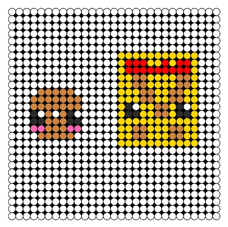 17 best images about perler beads perler bead these are food themed bead patterns including perler bead patterns bead sprites kandi cuff patterns peyote stitch patterns more