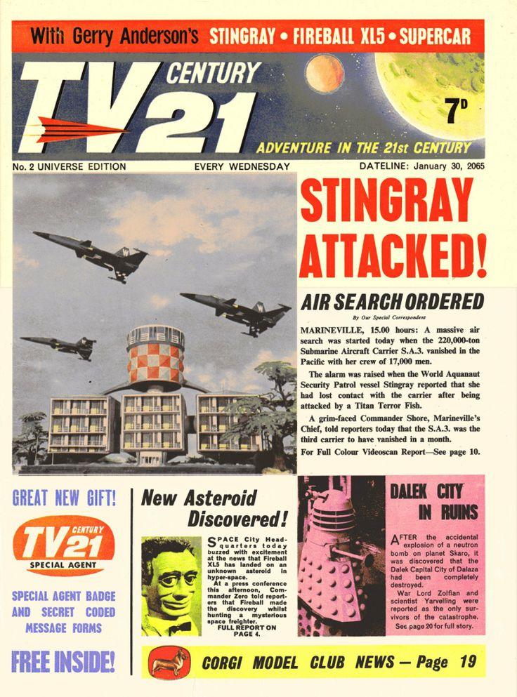 TV Century 21 issue number 2
