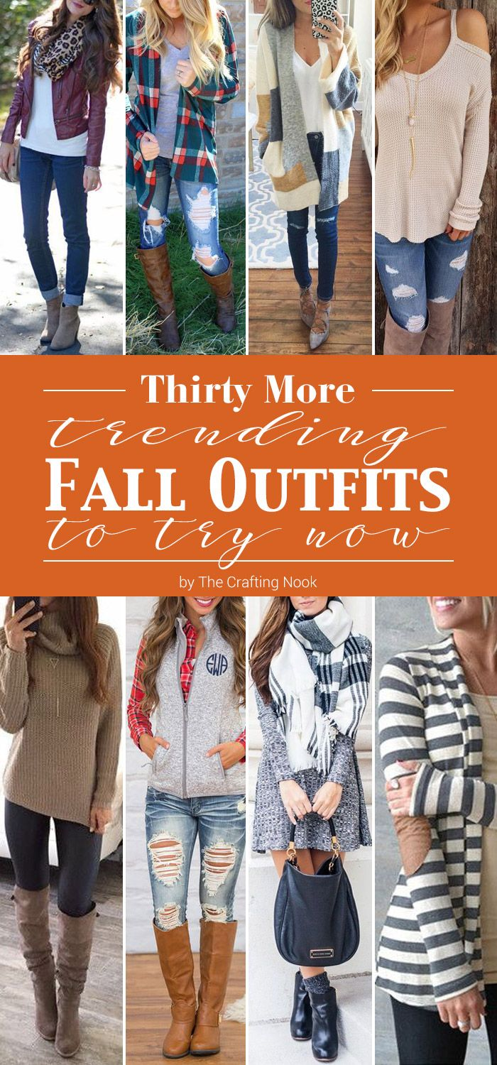 Craving for fall wardrobe Inspiration??? You gotta have a boost of ideas with these 30 Trending Fall Outfits to Try Now and look awesome this season!