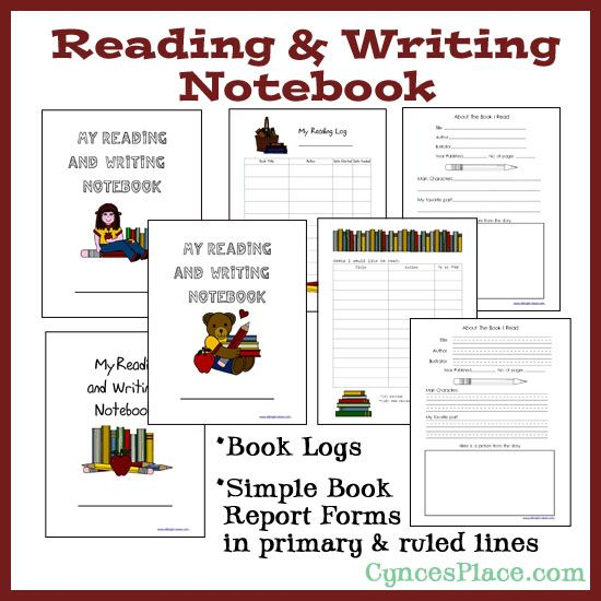 Reading and Writing Notebook