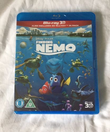#Finding nemo blu ray 3d + 2d new #sealed,  View more on the LINK: http://www.zeppy.io/product/gb/2/381867169541/