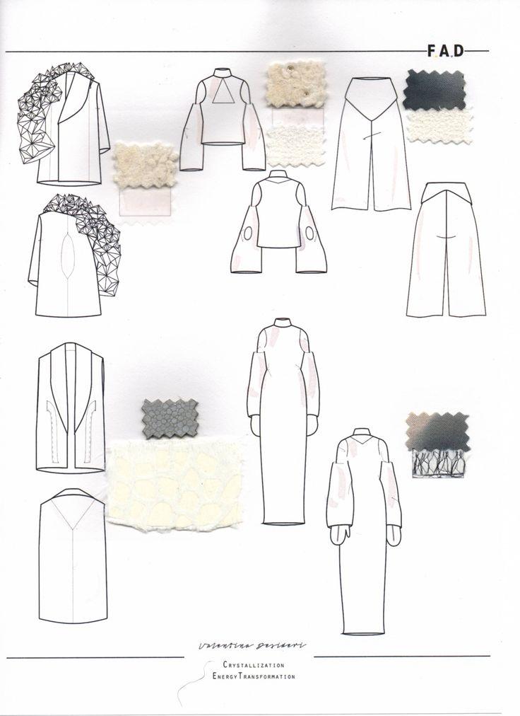 Fashion Sketchbook - fashion design drawings; fashion flats; fashion portfolio // Valentina Desideri