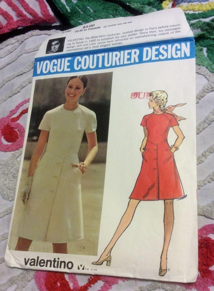 Uncut Vogue Couturier Design vintage pattern #2730 - Valentino Size 16