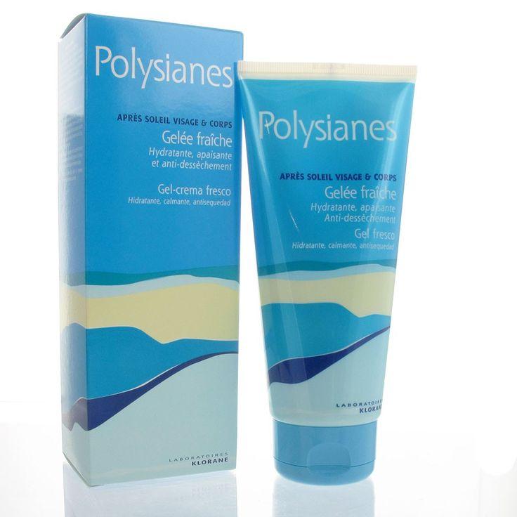 Klorane Polysianes Gelée Fraîche Après Soleil 200ml - Pharmacie Lafayette - Après-soleil