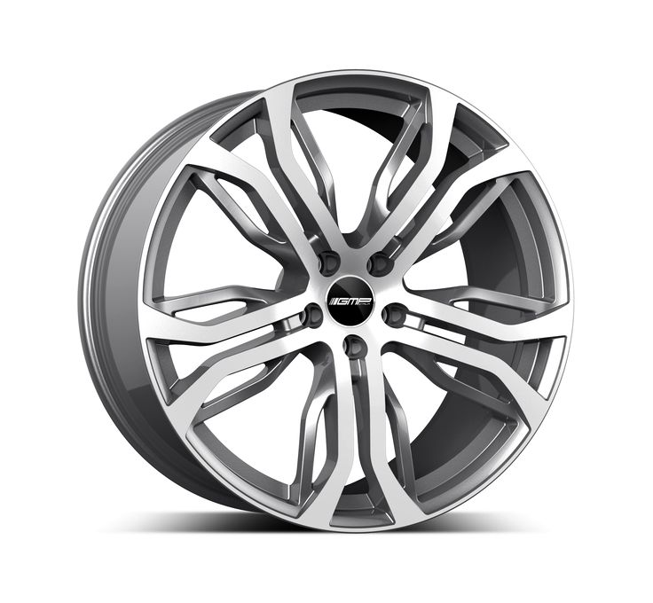 Dynamik Anthracite Diamond Professional Alloy wheel / Cerchio in lega professionale Dynamik Antracite Diamantato Side