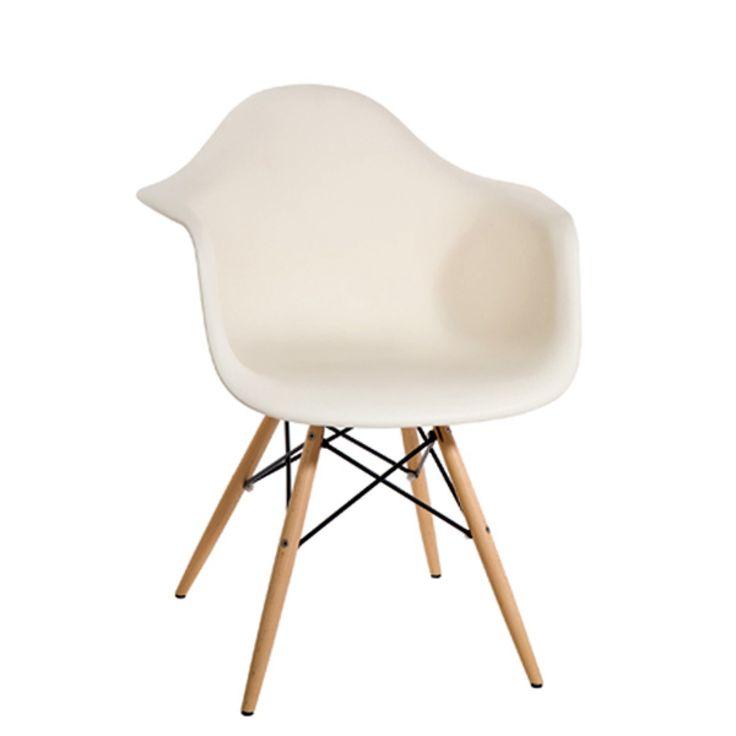 Καρέκλα Libro σε Κρεμ Χρώμα