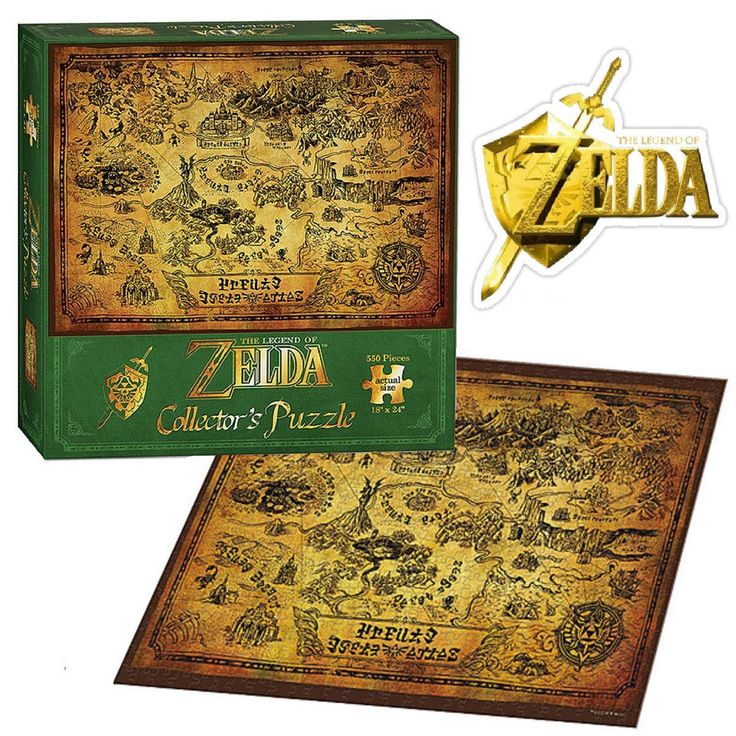 The Legend of Zelda Collector's Edition Puzzle NEW Hyrule